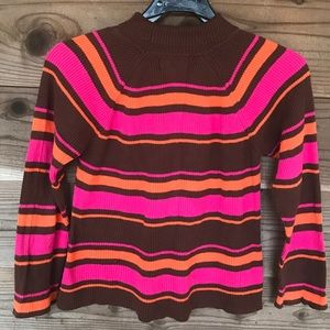 Lilly Pulitzer Sweaters - Lilly Pulitzer Striped Turtleneck Sweater Top. Sz8